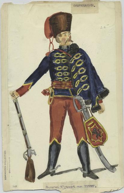 Husaren Regiment von Haddik. 1762?