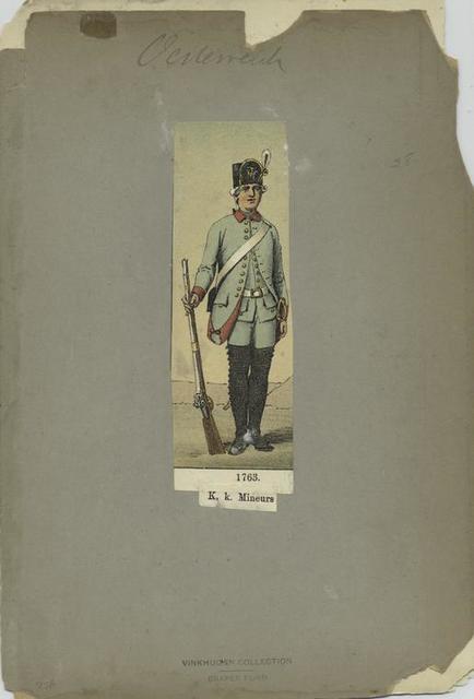 K. k. Mineurs. 1763