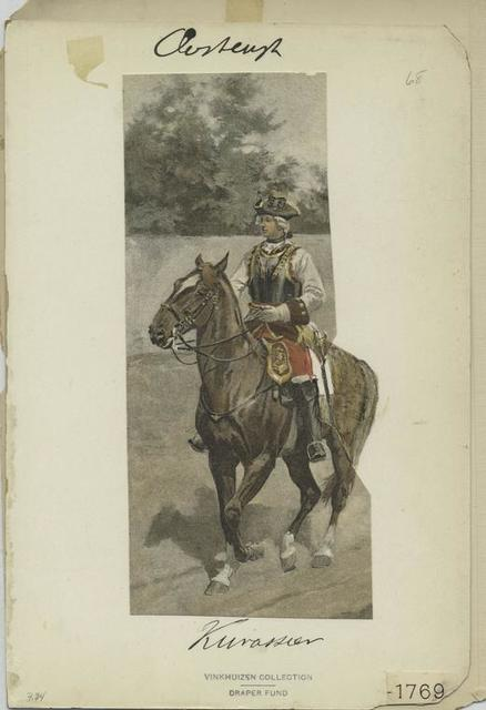 Kürassier, 1769