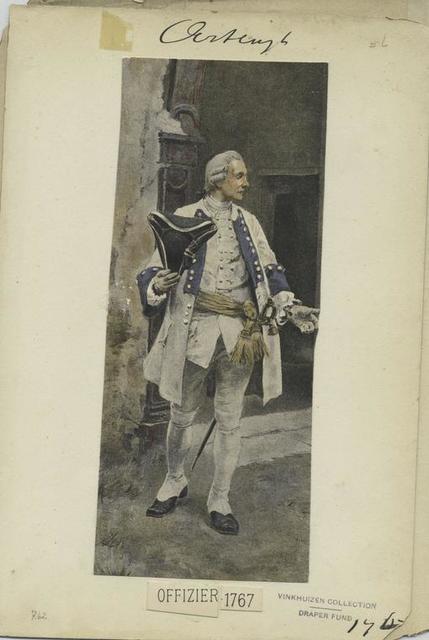 Offizier. 1767