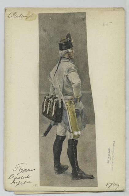 Pyper [Pfeifer ? ] Deutsche Infanterie. 1769