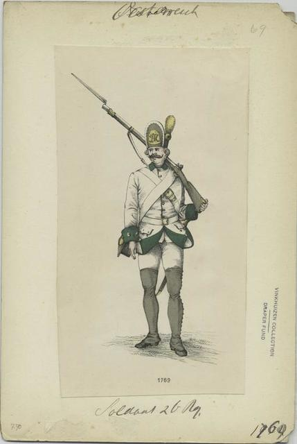 Soldat 2 Infanterie Reg. [?] 1769
