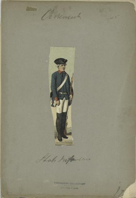 Stabs Infanterist. 1763