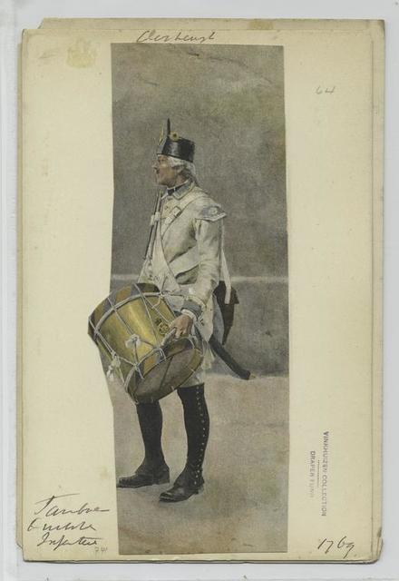 Trommler  Deutsche Infanterie. 1769