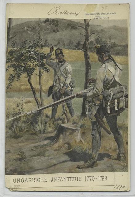 Ungarische Infanterie. 1770