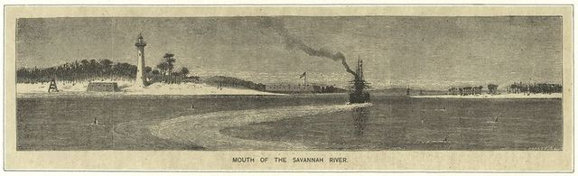 Mouth of the Savannah River
