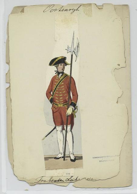 Trabanten Leibgarde, 1770.