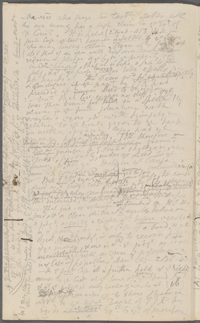 Legal notes and memoranda