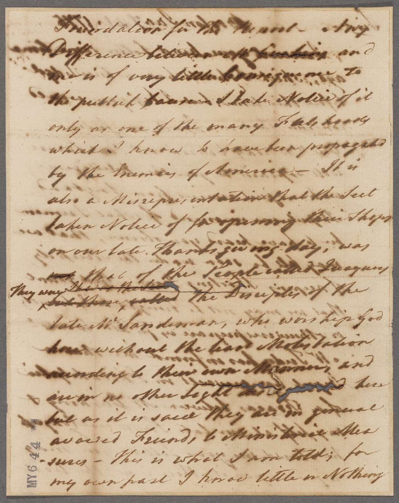 Adams, Samuel. Boston. To Stephen [ ]