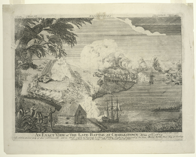 An exact view of the late battle at Charlestown June 17th, 1775.