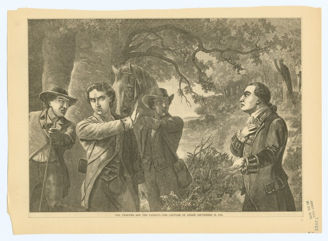 The tempter and the patriot - The capture of Andre, September 23, 1780