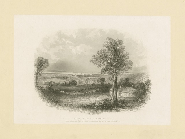 View from Valentine's hill, Westchester Co., N.Y. - Throg's Neck in the distance