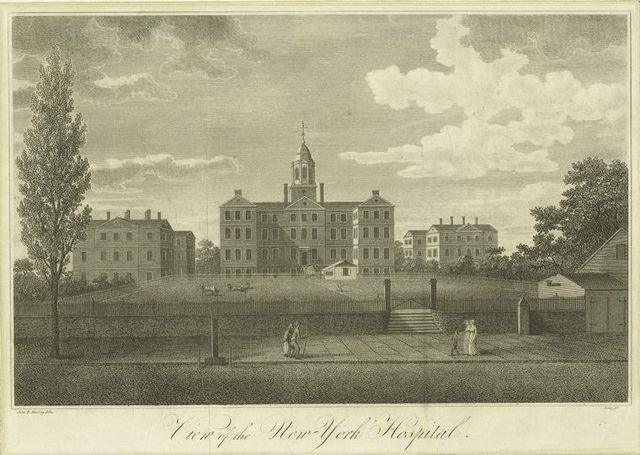 View of the New-York Hospital