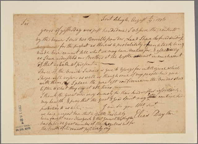 Letter to [Indian chiefs.]