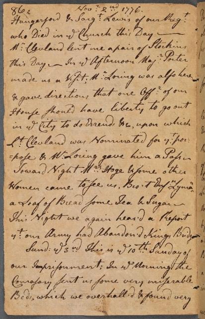 November 2-3, 1776