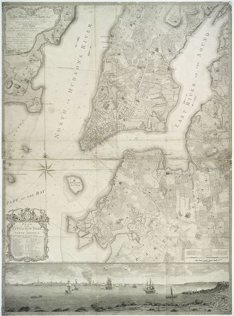 Plan of the city of New York, in North America: surveyed in the years 1766 and 1767.