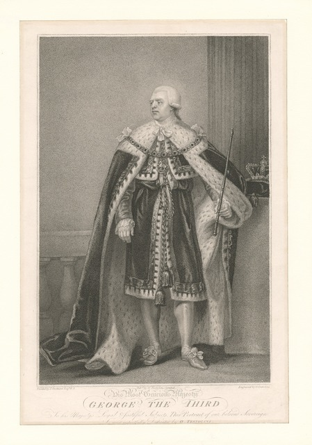 His most gracious majesty George the Third
