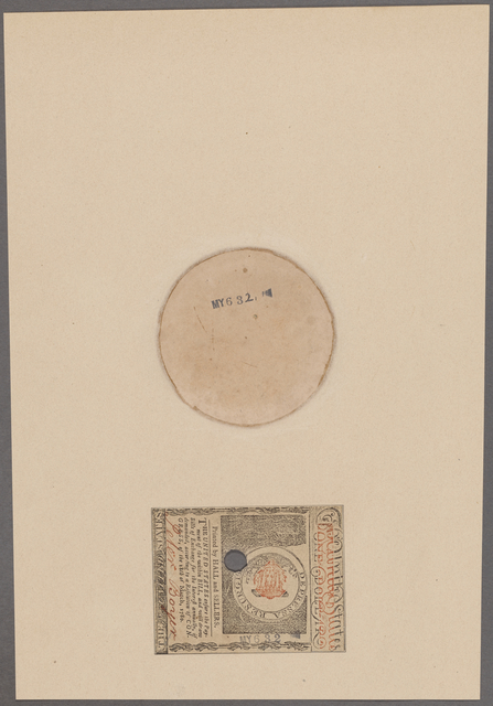 Massachusetts Bay. Bank note. One dollar