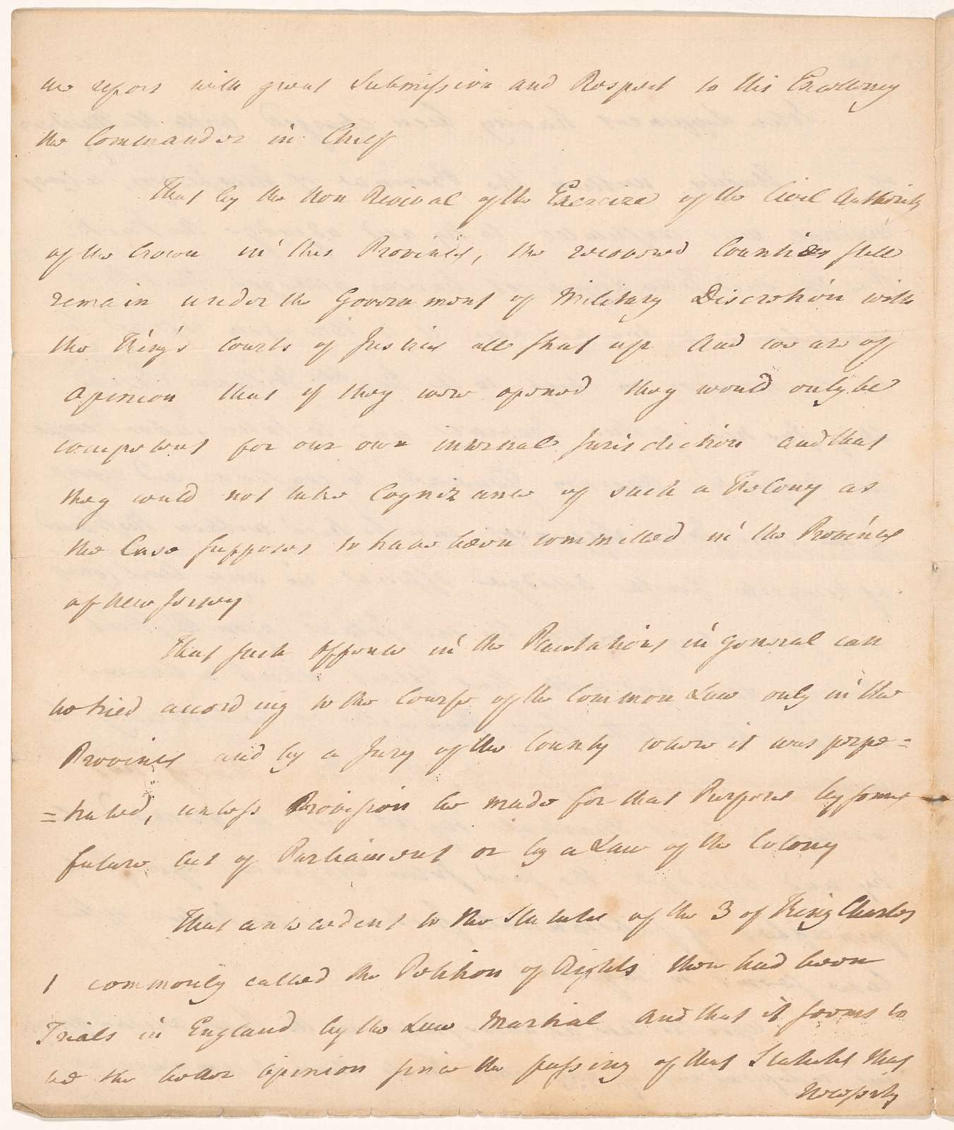 Opinion of William Smith Jr. and John Tabor Kempe upon the case of John [Lippincott]