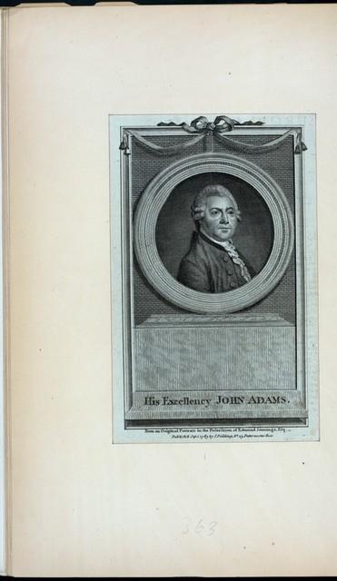 His Excellency John Adams.