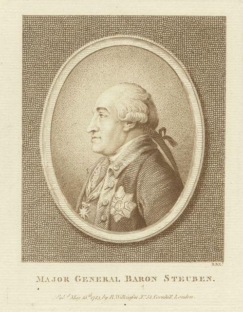 Major General Baron Steuben