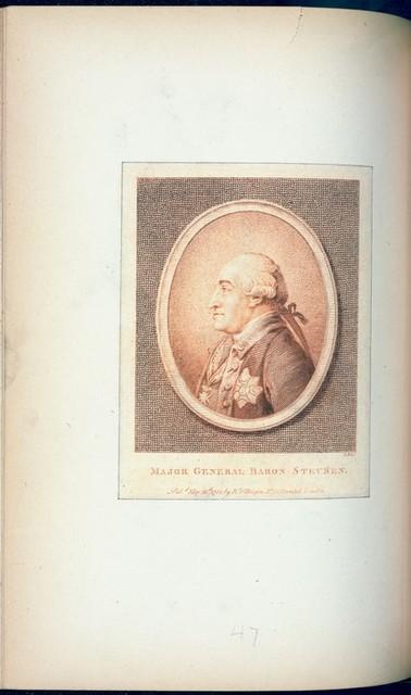 Major General Baron Steuben.