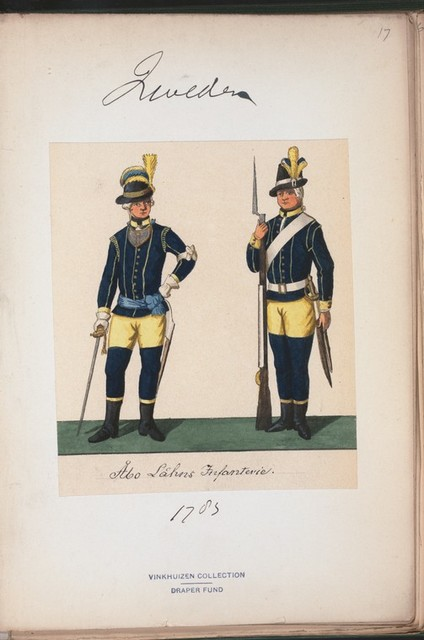 Norway and Sweden, 1783-96.