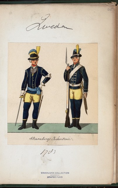 Norway and Sweden, 1783.
