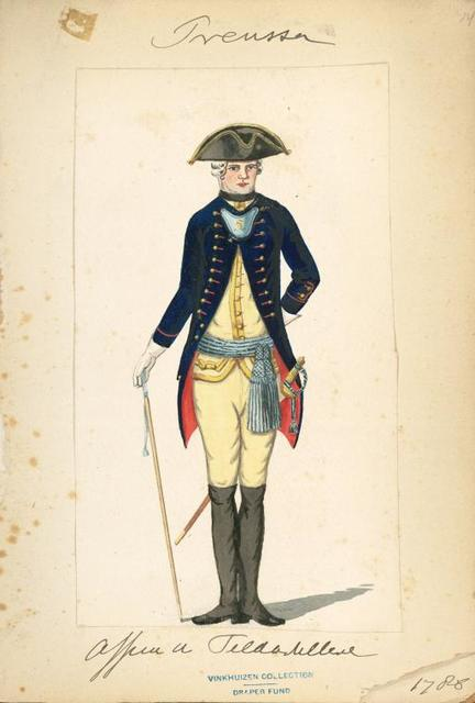 Germany, Prussia, 1786