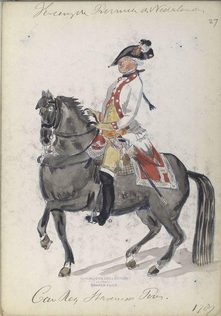 Cavalerie Regiment Stavenisse Pous. 1787