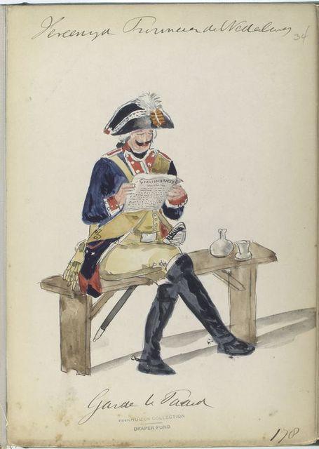 Garde te Paard. 1787