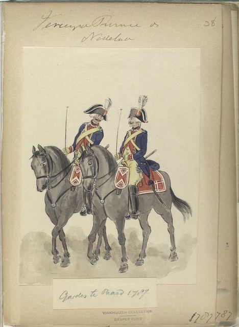 Gardes te Paard. 1787