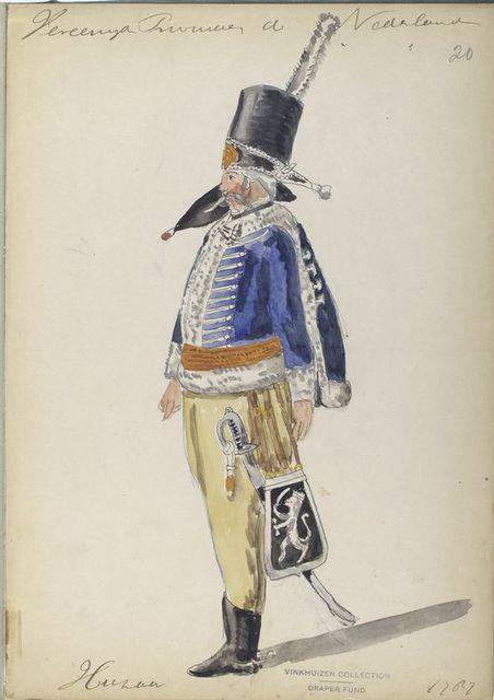 Huzaar. 1787