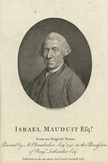 Israel Mauduit Esqr.