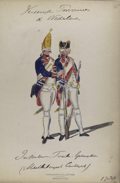Vereenigde Provincien der Nederlanden. Infanterie [...] Grenadier. (Mecklenburg...).