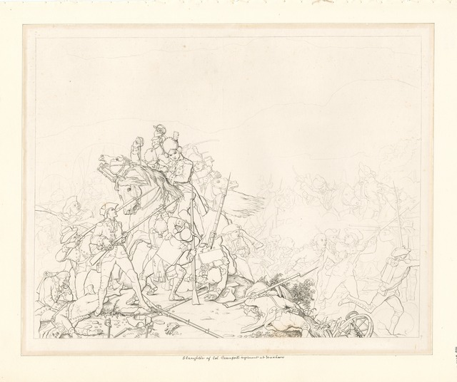 [Slaughter of Col. Beaufort's regiment at Waxhaw.]