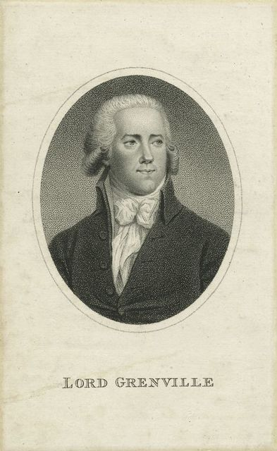 Lord Grenville.