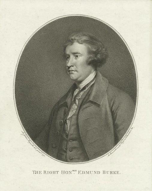 The Right Hon-ble. Edmund Burke.