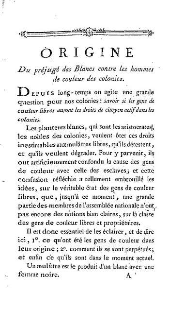 Lettre de J. P. Brissot a M. Raymond