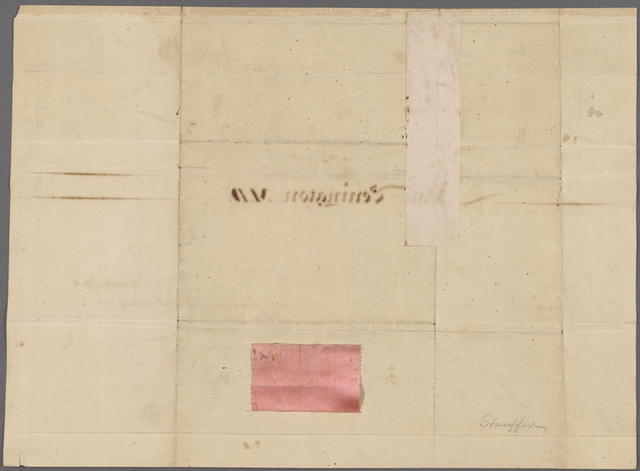 Certificate of election of John Penington for membership in the American Philosophical Society