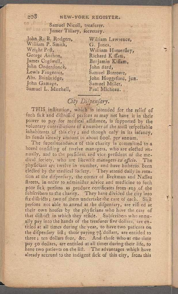 New York City directory, 1792