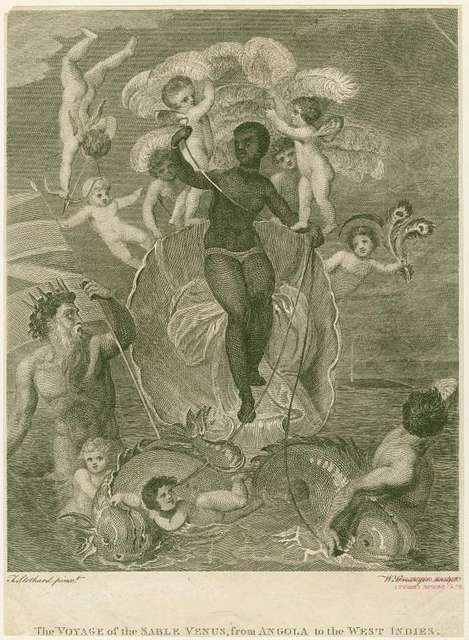 The voyage of the Sable Venus, from Angola to the West Indies