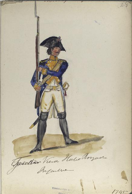 Grenadier Vierde Halve Brigade Infanterie. 1795