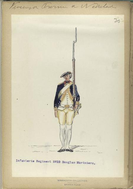 Vereenigde Province de Nederland, Infanterie Regiment No.19 Douglas Mariniers