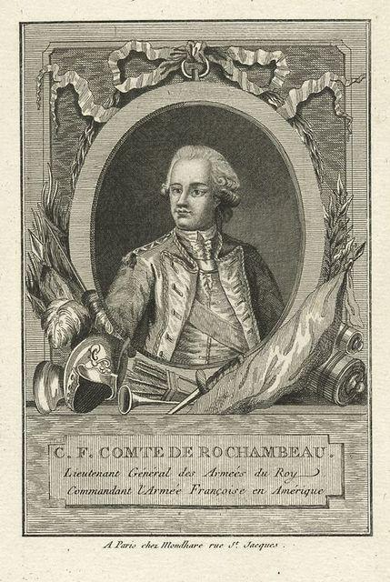 C.F. Comte de Rochambeau Lieutenant General des Armees du Roy