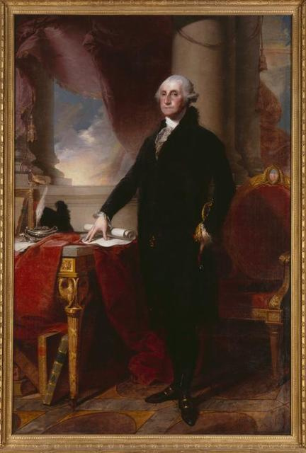 George Washington- The Munro-Lenox Portrait