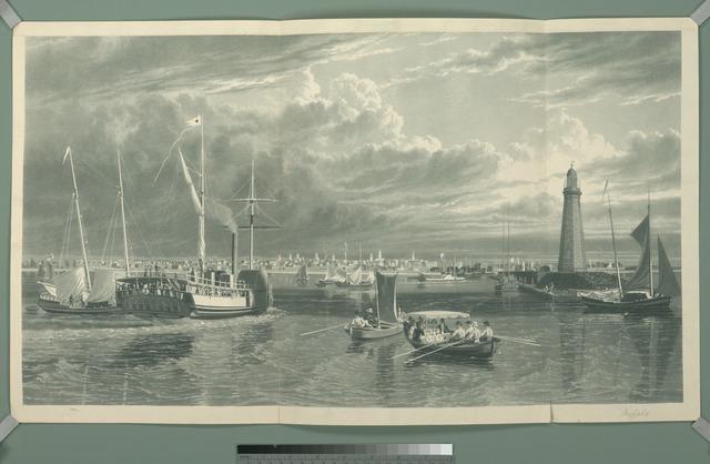 [Buffalo from Lake Erie]
