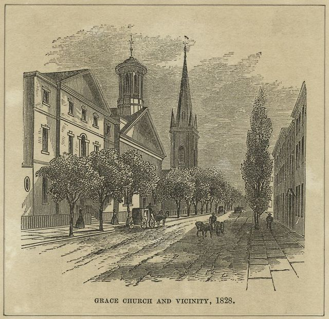 Grace Church and Vicinity, 1828