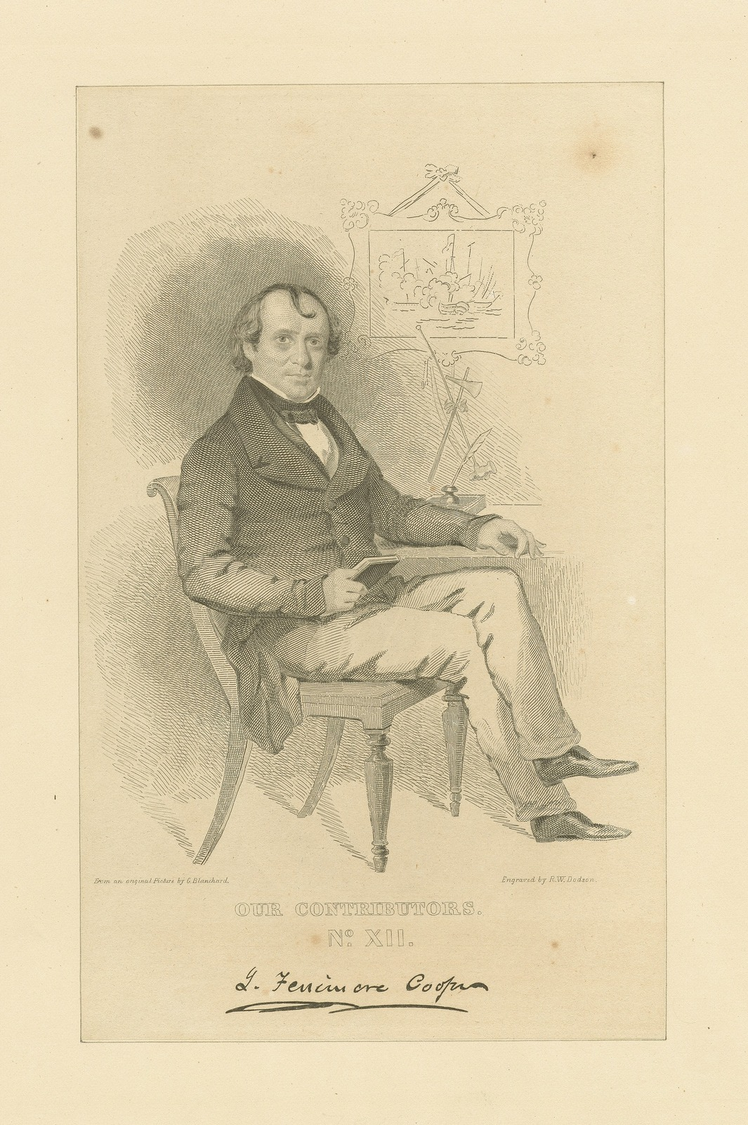 Our contributors No. XII: J. Fenimore Cooper