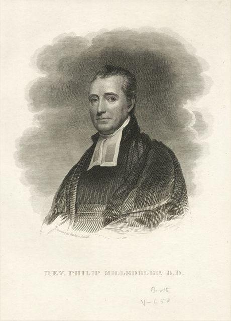 Rev. Philip Milledoler D.D.